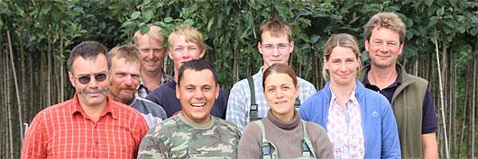 Team Baumschule Abel